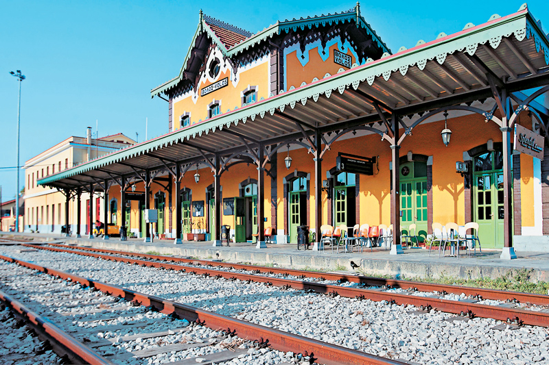 Train station of Volos