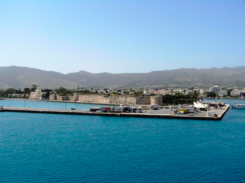 Exterior view of the port